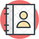 Phone Directory Pages Icon
