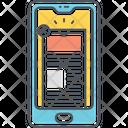 Mphone Advertising Phone Advertising Online Advertising Icon