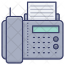 Phone And Fax Icon