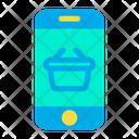 Phone Basket Icon