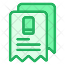 Phone Bills Bills Receipts Icon