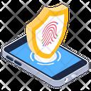 Phone Biometric Icon