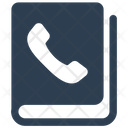 Address Book Call Contact List Icon