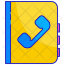 Phone Book Telephone Icon
