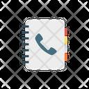 Phone Book Call Book Icon