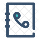 Phone Call Book Icon