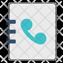 Phone Call Book Icon