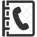 Book Contact Phone Icon