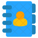 Phone Book Contacts Address Book Icon