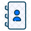 Phone Book Communication Phone Directory Icon