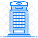 Phone Booth Call Booth Public Phone Icon
