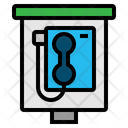 Phone Booth Telephone Icon