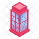 Phone Booth Telephone Booth Public Booth Icon