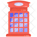 Telephone Booth Phone Booth Phone Box Icon