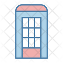 Phone Booth Public Phone Telephone Booth Icon