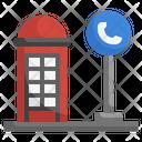 Phone Booth Telephone Box Phone Call Icon