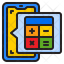 Phone Calculator Icon
