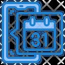 Phone Calendar Icon