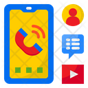Phone Call Chat User Icon