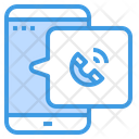 Phone Call Mobile Application Icon