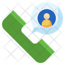 Phone Call Telephone Call Center Agent Icon