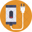 Charger Phone Battery Low Icon