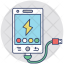 Phone Charging Battery Icon