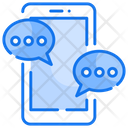 Phone Chat Mobile Chat Mobile Chatting Icon