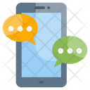 Communication Connection Mobile Icon