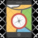 Phone Compass Icon
