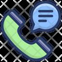 Phone Conversation Phone Communication Discussion Icon