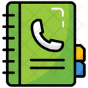 Phone Directory Account Book Biography Icon
