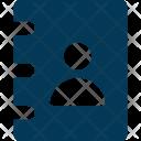 Phone Directory Account Icon