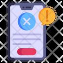 Phone Error Icon