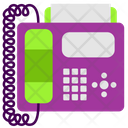 Phone Fax Icon