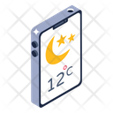 Phone Forecast Mobile Forecast Weather Forecast Icon