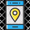 Smartphone Phone Location Location Icon