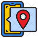 Phone Location Icon
