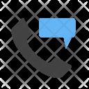 Message Phone Perm Icon