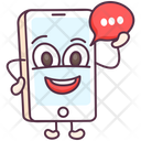 Mobile Communication Conversation Mobile Chatting Icon