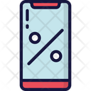 Phone On Discount Icon