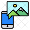 Phone Picture Icon