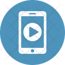 Phone Play Button App Mobile Icon
