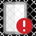 Phone Problem Security Alert Icon