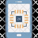 Phone Processor Chip Device Icon