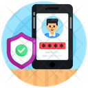 Mobile Password Phone Protection Phone Security Icon