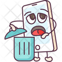 Phone Recycle Bin Icon