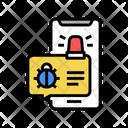Phone Message Virus Icon