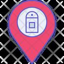 Phone Service Location Telephone Destination Icon