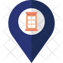 Phone Service Location Icon
